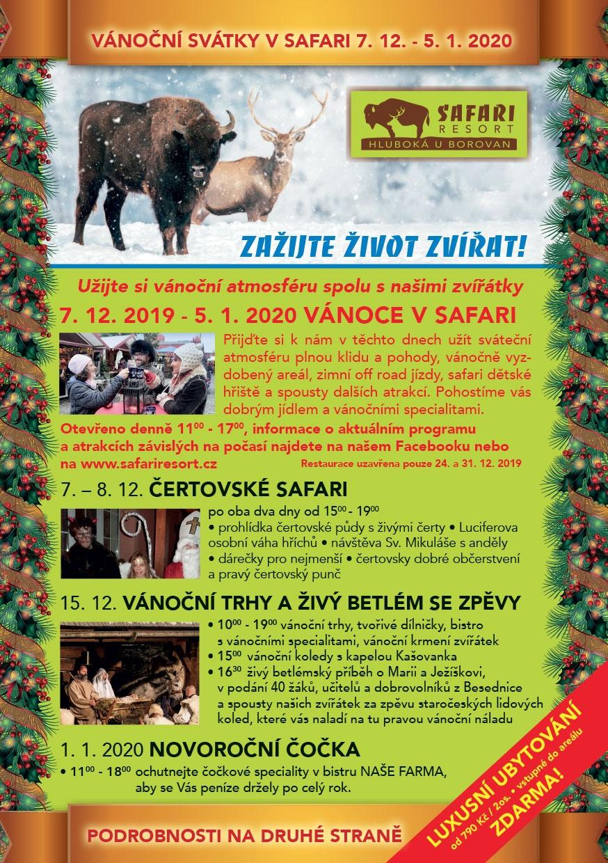 Vánoce v Safari