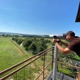 Pozorovatelna s dalekohledem