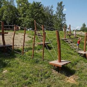 Nová workout stezka pro děti a dospělé