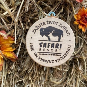 Turistická známka SAFARI RESORT