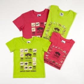 Dětská trička Safari