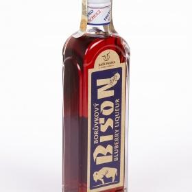 Borůvkový BISON likér
