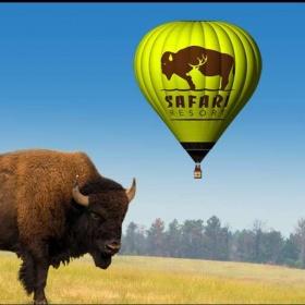 Safari Balloon - let v Safari nejen nad zvířaty